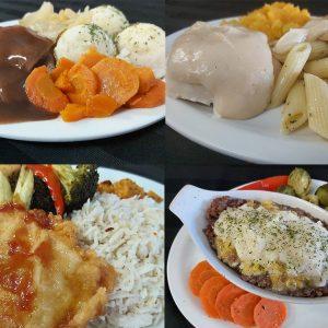Assorted – 12 Fresh Meals Program – Great Value!