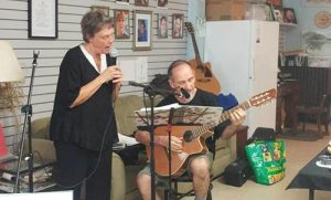 Live Music - Donna and Mil singing